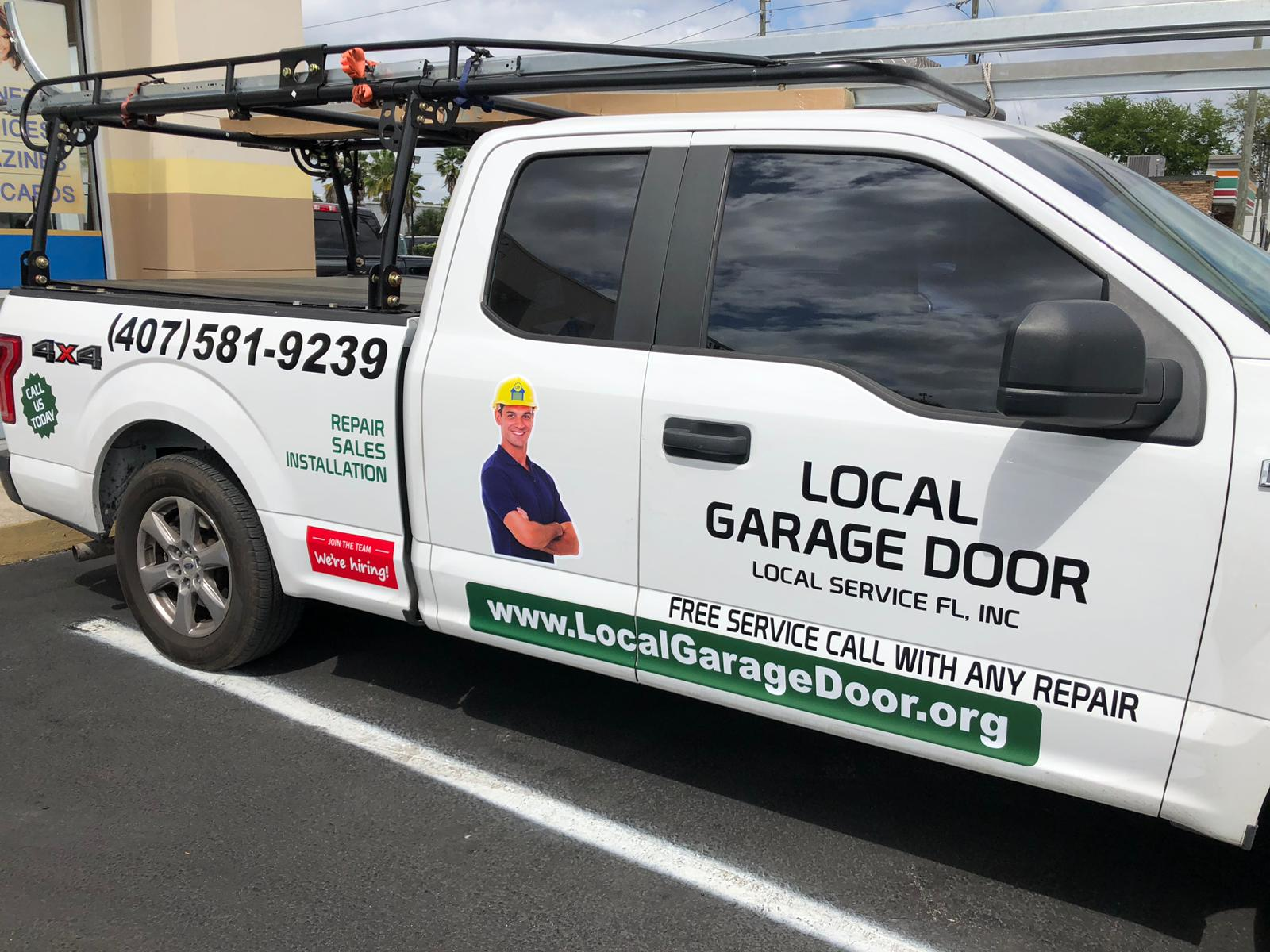 About Local Garage Door Free Service, Local Garage Door Services